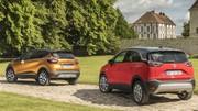 Essai : L'Opel Crossland X défie le Renault Captur 2017