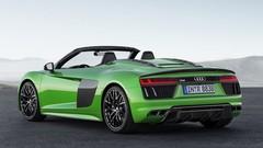 Audi R8 Spyder V10 Plus 2017 Les Anneaux En Offrent Toujours Plus !
