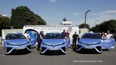 Des taxis Toyota Mirai à Paris