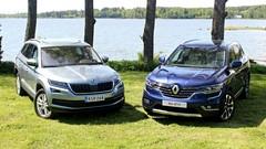 Essai Renault Koleos (2017) vs Skoda Kodiaq (2017) : étude de K