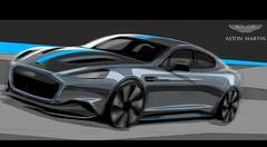 Aston Martin produira l'électrique RapidE en 2019