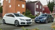 Essai : La Peugeot 308 restylée défie la Renault Mégane
