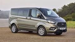 Ford : restylage pour les Tourneo Custom et Transit Custom