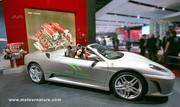 Ferrari met une F430 au régime E85