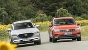 Essai comparatif : le Mazda CX-5 (2017) défie le Volkswagen Tiguan