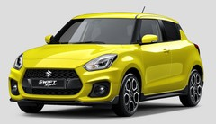 Suzuki Swift 4 Sport 2018 : Première photo officielle
