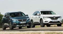 Essai comparatif : le Renault Koleos (2017) défie le Peugeot 5008