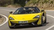 Essai McLaren 570S Spider : Sport de plein air