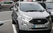 Ford EcoSport : nouvelle mouture en test