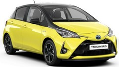 Toyota Yaris hybride Collection Jaune 2017 : 250 exemplaires !