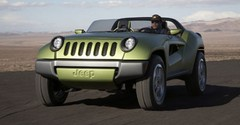 Jeep Renegade Concept : en vert et contre tous terrains