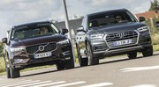 Essai : Le Volvo XC60 D4 défie l'Audi Q5 TDI 190