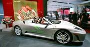 Ferrari F430 Spider Bio Fuel : du rouge au vert
