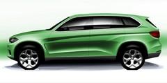 BMW X7 (2019) : Un concept dévoilé au salon de Francfort
