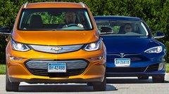 La Chevrolet Bolt va plus loin qu'une Tesla Model S sur une charge