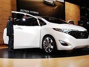 Nissan Forum Concept : Espace détente