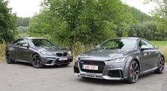 Essai Audi TT RS vs BMW M2 : RecetteS Magiques !