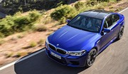 BMW M5 : 600 ch et un mode Drift