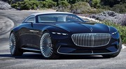 Mercedes-Maybach Vision 6 Cabriolet : hors-bord de route