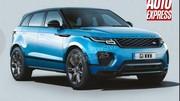 Range Rover : le futur Evoque prêt en 2019