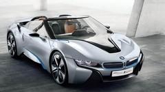 BMW i8 Roadster présent au Salon de l'Auto de Francfort