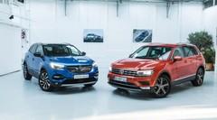 Opel Grandland X vs Volkswagen Tiguan : premier duel en vidéo