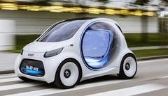 Smart Fortwo Vision EQ Concept : en ville, sans les mains