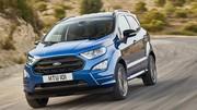 Le petit SUV Ford Ecosport restylé débarque en Europe