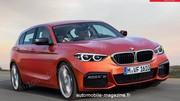 La future BMW Série 1 traction se fait surprendre