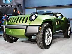 Jeep Renegade Concept : Un tout terrain qui chasse le gaspi
