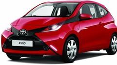Toyota lance la série limitée Aygo x-red