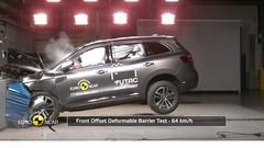 Crash-tests EuroNCAP : le Koleos et la Fiesta obtiennent cinq étoiles, l'Ampera E quatre
