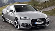 Essai Audi RS 5 quattro : sur des rails