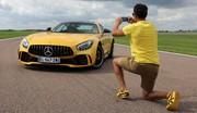 Essai Mercedes AMG GT-R par Soheil Ayari : coup de coeur assuré