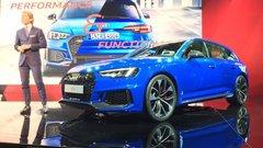 Audi RS4 Avant 2017 : infos et photos de la nouvelle RS4 de 450 ch