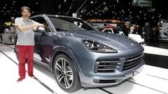 Porsche Cayenne 2017 : le nouveau Cayenne 3 au salon de Francfort