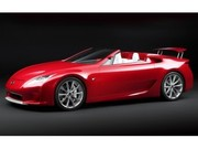 Lexus LF-A Roadster : surprise du chef