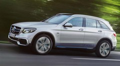 Mercedes GLC F-Cell : Pile à combustible et batterie rechargeable