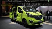 Opel Vivaro Life : camping vert