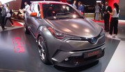 Toyota C-HR Hy-Power : maquillage