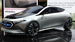 Mercedes EQ A Concept : vers une future Classe A électrique