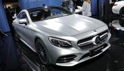 Mercedes Classe S Coupé restylée : elle combat les virages !
