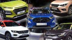 A bord des nouveaux concurrents du Renault Captur