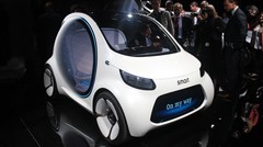 Smart Fortwo Vision EQ Concept : CASE