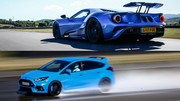 Au volant des Ford GT et Focus RS Pack Performance !