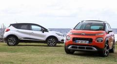 Essai Citroën C3 Aircross vs Renault Captur : duel franco-français