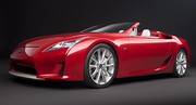 Lexus LF-A Roadster : Chapeau à terre