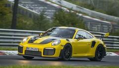 Porsche 911 GT2 RS : un chrono record de 6'47 secondes sur le Nürb'