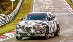 Alfa Romeo Stelvio Quadrifoglio Record Nürburgring : Le Stelvio s'offre son record du tour