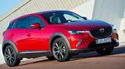 Essai Mazda CX-3: Sensualité italienne, qualité «made in Japan»